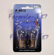 EIKO BAY15d S-8 6V 17/5W A-4813 TWO BULB MINIATURE LIGHT REPLACEMENT FIT SIGNAL