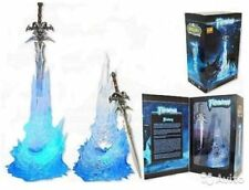 WORLD OF WARCRAFT - Arthas Menethil Espada Frostmourne con luz led, WOW Sword