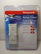 HONEYWELL UNIVERSAL SMARTSYNC CEILING FAN & LIGHT REMOTE MODEL #40009