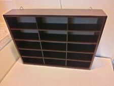 Wall mounted display case