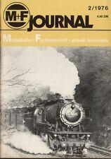 rivista M+F Journal Merker+Fischer 2/1976   bb