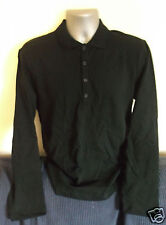 THE BEATLES Let It Be Naked promo-only black long sleeve polo shirt NEW [M]