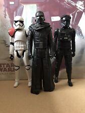 Star Wars 12 Inch Figures. Kylo Ren. Stormtrooper. Death Trooper.