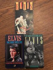 Elvis Presley 3 VHS Lot