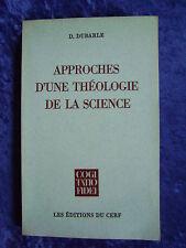 """""""Approches d'une théologie de la science"""" von Dominique Dubarle, O. P."""