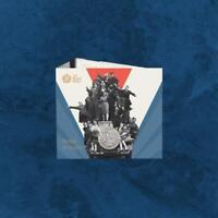 Großbritannien - 75 Jahre Ende 2. Weltkrieg - £2 Pound 2020 BU Coincard - United