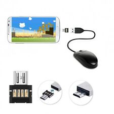 Mini Micro USB Male to USB 2.0 Female Adapter OTG Converter For Android