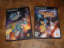 Play Station 2 PS2 Sly 3 & The Darkest Faerie Video Games