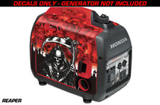 Decal Wrap For Honda EU2000i Skin Camping Generator Engine Sticker REAPER RED