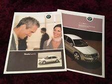 Skoda Superb Brochure 2004 - UK Issue + 2005 Prices & Specs booklet