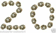 RANGE ROVER P38 (1994-2002) STAINLESS ALLOY WHEEL NUTS (x20) - ANR3679