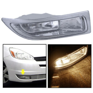 For TOYOTA SIENNA 2004 2005 Front Fog Lamp Driving Light Front Bumper Right