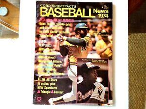 Cord Sportfacts Baseball News 1974