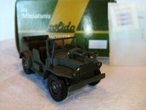 A19 - SOLIDO - véhicule militaire- Dodge 4x4 Command car  - ( N°61 )