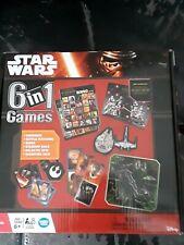 NEW STAR WARS 6 in 1 GAMES DOMINOES, BINGO, BATTLE MATCHING, more