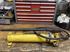 Enerpac P 80 P80 Hyraulic Hand Pump 10000psi Free Shipping