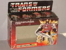 G1 TRANSFORMER DINOBOT SNARL EMPTY BOX LOT # 1
