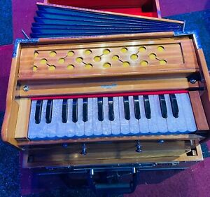 Lightly Used Portable Harmonium Kirtan