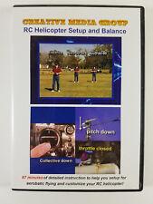 RC HELICOPTER SETUP & BALANCE (DVD)
