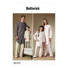 Butterick USA Schnittmuster B 6429 Adult Nachtwäsche Pyjama S-xl