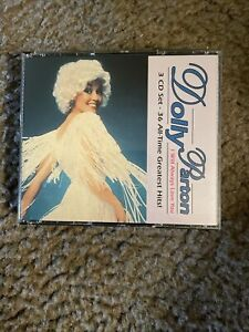 Dolly Parton I Will Always Love You (3 CD Set 36 AllTime Greatest Hits) BMG V.G!