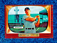 "1955 ORIGINAL BOWMAN MICKEY MANTLE #202 N.Y. YANKEES SHARP ""UER"" HOF RARE CARD!!"