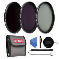 Beschoi 77mm Neutral Density ND2 ND4 ND8 ND Filter Kit Accessory for DSLR Lens