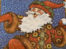 """Mary Engelbreit """"Fir Christmas Comes But Once A Year' Christmas tin - Santa"""
