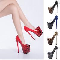 Drag Queen Heels Leopard Men's Patent Leather Crossdresser Trans Shoes Plus Size