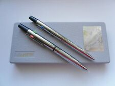 Vintage USSR Set of 2 Ball Point Pens Taktika Tactics In the Original Case 1980s