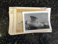 Airplane Plane Airline Antique 11 Photo Lot Vintage