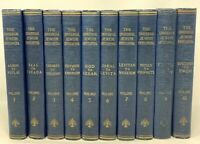 RARE 1948 10 Vol UNIVERSAL JEWISH ENCYCLOPEDIA, Jews Judaica Jewish Religion Hx