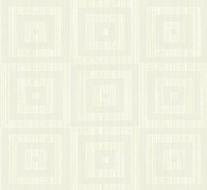 Tapete, Designtapete, Struktur, NadelStreifen, Quadrate, Prosecco, Elfenbein
