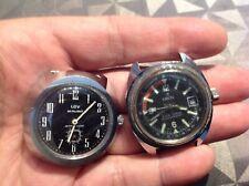 Lot de montre années 70 pour pieces