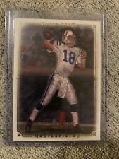 New listing 2008 Upper Deck Masterpieces Peyton Manning #68