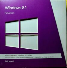 Microsoft Windows 8.1 Full Version 32Bit & 64Bit DVD MS WIN 8 =RETAIL BOX=