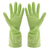 Gloves Dish Washing Cleaning Waterproof Soft Rubber Scouring Kitchen Gloves