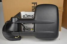 2007-2011 GMC Sierra Trailer Tow Left Hand Driver Side Power Mirror OEM 20862098