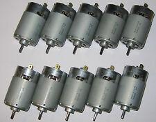 10 X Mabuchi 555 DC Motor - Wind / Water Turbine Generator - 6V - 1V per 500 RPM