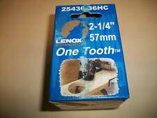 "2-1/4"" - 57mm Carbide Tipped Lenox 1 tooth hole saw"