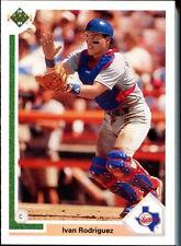 1991 Upper Deck Final Edition Ivan Rodriguez Texas Rangers #55F Baseball Card