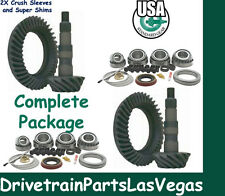 "GM 8.5 8.6"" + 8.25"" IFS 4.11 Ratio Ring and Pinion Gear Set Package 1999-08 F+R"