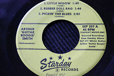 """ARTHUR """"Guitar Boogie"""" SMITH """"Little Widow"""" plus 5 more! 45rpm Starday Records"""