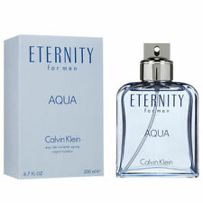 ETERNITY AQUA by Calvin Klein for Men Cologne 6.7 oz edt New in Box