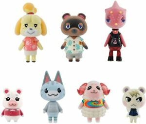 Animal Crossing New Horizons Friends Dolls Complete Set - Brand New