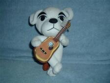 Nintendo 2005 Plush White Dog Puppy Guitar Sitting on Stool Wild World Used VHTF