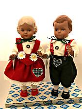 "German Schildkrot Dolls 10"" Tall Turtle Mark 25 Displayed Only Tags Original Box"