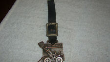 Caterpiller Watch Fob - Leather Fob - Ohio Machinery Co.