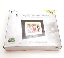 "GIINII 8"" LCD Digital Picture Photos Frame - Brown - Artforme GN-818"