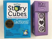 Rory's Story Cubes Actions 9 Cubes And Story Cubes Clues 3 Cubes